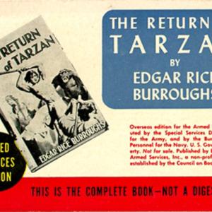 Burroughs, Edgar Rice. The Return of Tarzan