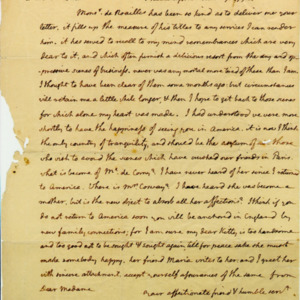 Angelica Church Archive. From Thomas Jefferson. June 7, 1793, p.1