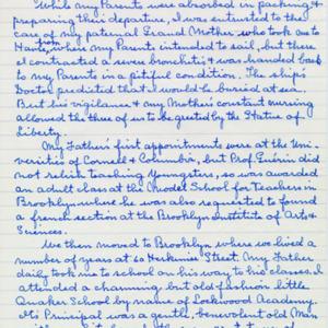 McConnell documents. Marcelle Guérin. Memoir, p.2