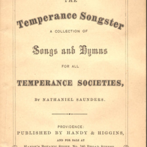 The Temperance Songster