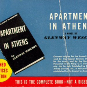 Glenway Wescott. Apartment in Athens