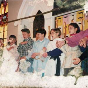 Celebrating Hanukah at the Religious School, 1993, 2
