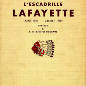 "McConnell documents. ""L'Escadrille Lafayette."" One of the first histories of the Lafayette Escadrille, published 1939"