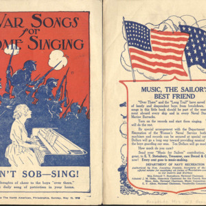War Songs for Home Singing