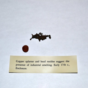 Copper splatter