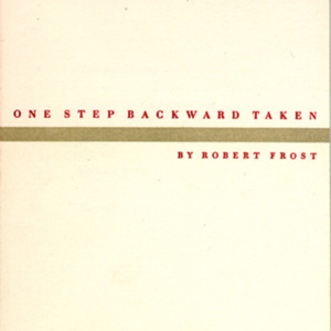 1947 (One Step Backward Taken)