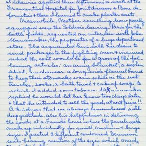 McConnell documents. Marcelle Guérin. Memoir, p.5