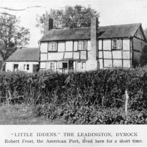 """Little Iddens,"" at Ledbury, Herefordshire, England"