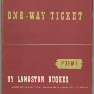 One-Way Ticket by Langston Hughes
