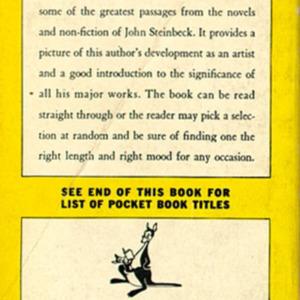 John Steinbeck. The Steinbeck Pocket Book