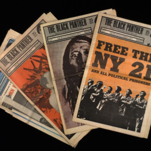 Black Panther Party. Black Panther Newspaper.