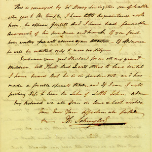 Angelica Church Archive. From Philip Schuyler. Oct. 20, 1790, p.2