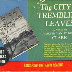 Walter van Tilburg Clark. The City of Trembling Leaves