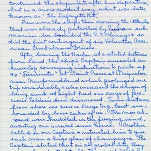 McConnell documents. Marcelle Guérin. Memoir, p.6