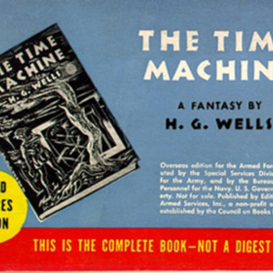 H. G. Wells. The Time Machine