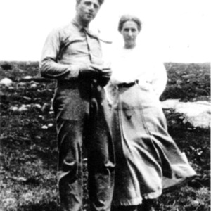 Robert and Elinor Frost