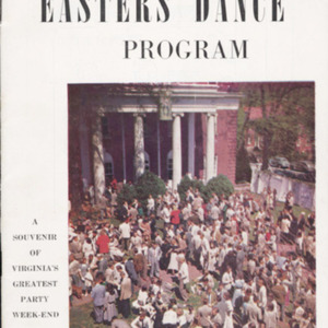 Easter Week program. 1952