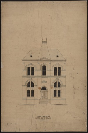 Front elevation of Brooks Museum