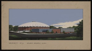 Rendering of University Hall