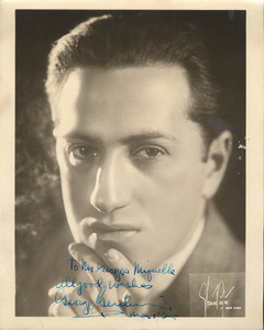 Photograph of George Gershwin