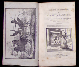 Narrative and Confessions of Lucretia P. Cannon