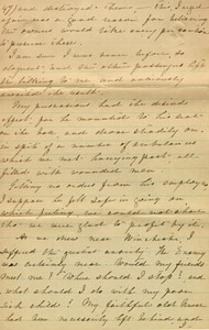 DuVal letter, 1864