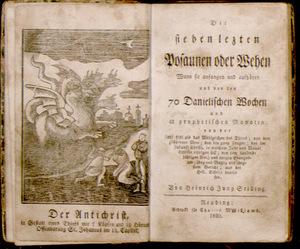 Johann Heinrich Jung-Stilling. Die sieben lezten Posaunen.