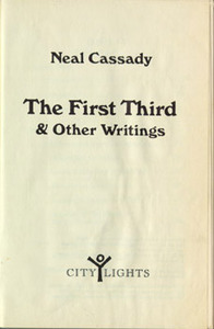 The First Third and Other Writings