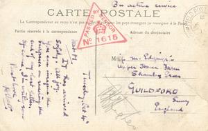 Latham postcard