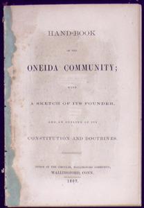 Hand-book of the Oneida Community