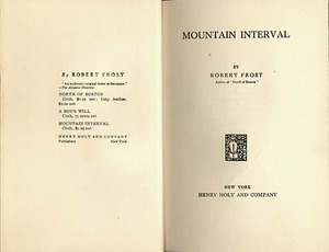 Mountain Interval&lt;br /&gt;<br />