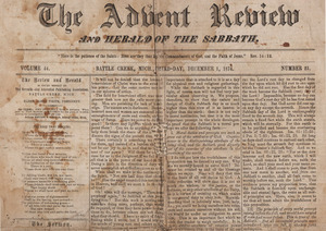 Advent Review and Sabbath Herald