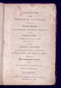 A Connected View of the Principles and Rules