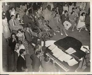 Guy Lombardo's band at the University of Virginia Final Dances.