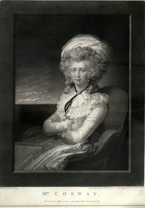 Self-portrait of Mrs. [Maria] Cosway
