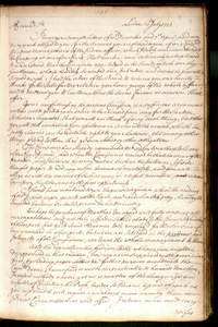Letterbook of the Company for propagation of the Gospel in New England