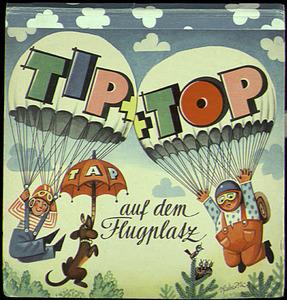 Tip und Top auf dem Flugplatz