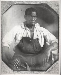 Daguerreotype of Isaac Jefferson by John Plumbe