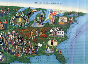 This Land Is Your Land. Illustrated by Kathy Jakobsen