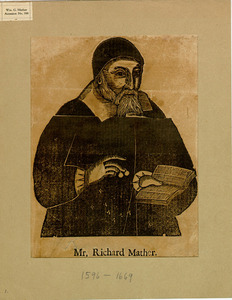 Woodcut of Richard Mather