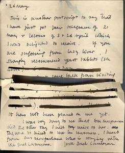 Maclean letter