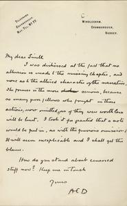 Doyle letter