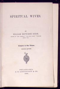 Spiritual Wives