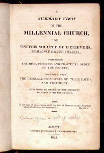 A Summary View of the Millennial Church