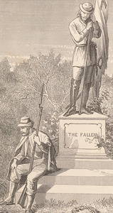 Detail, Rev. John Lipscomb Johnson, The University memorial... [Baltimore: Turnbull Brothers, 1871]