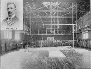 Interior of Fayerweather Gymnasium