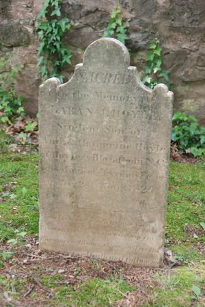 Headstone of Laban J. Hoyle