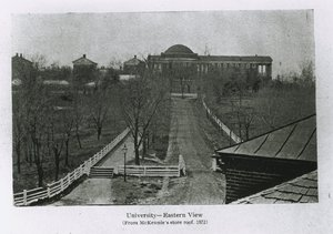 Eastern View of the University of Virginia