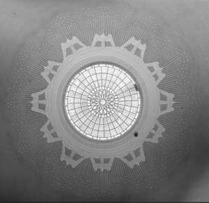 The interior of the Rotunda dome