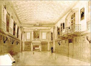 Garrett Hall interior&lt;br /&gt;<br />